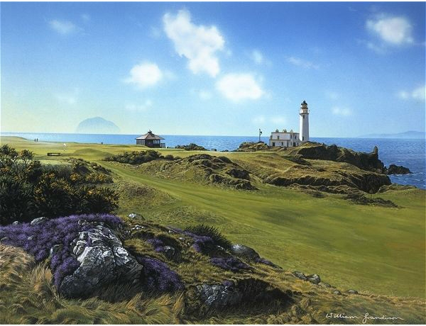 Turnberry Scotland with Lighthouse